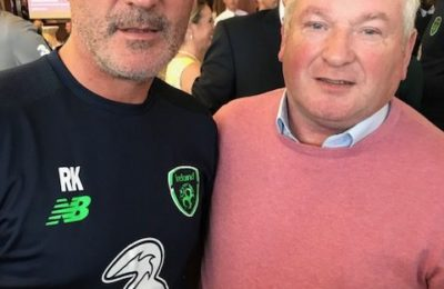 Denis Murphy and Roy Keane
