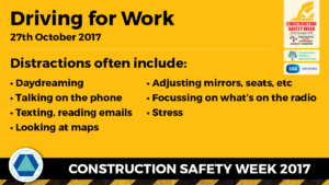 Construction Safety Week Drive Safely