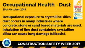 Construction Safety Week Occupational Therapy- Dust