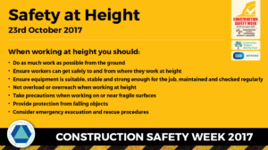 Working at height message 3
