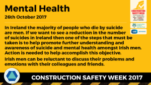 Construction Safety Week Mental Health