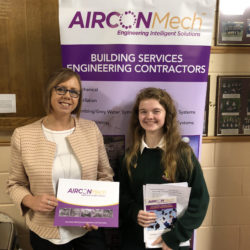Deirdre Keogh at FCJ Bunclody Careers Night 91118