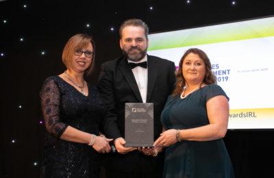 Deirdre Keogh, AirconMech; Mark Keely Karcher Ireland, Caroline Buckley AirconMech
