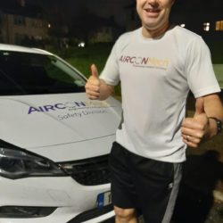 EHS Manager Sean Rath Completes 10k Run in the Dark Charity Challenge